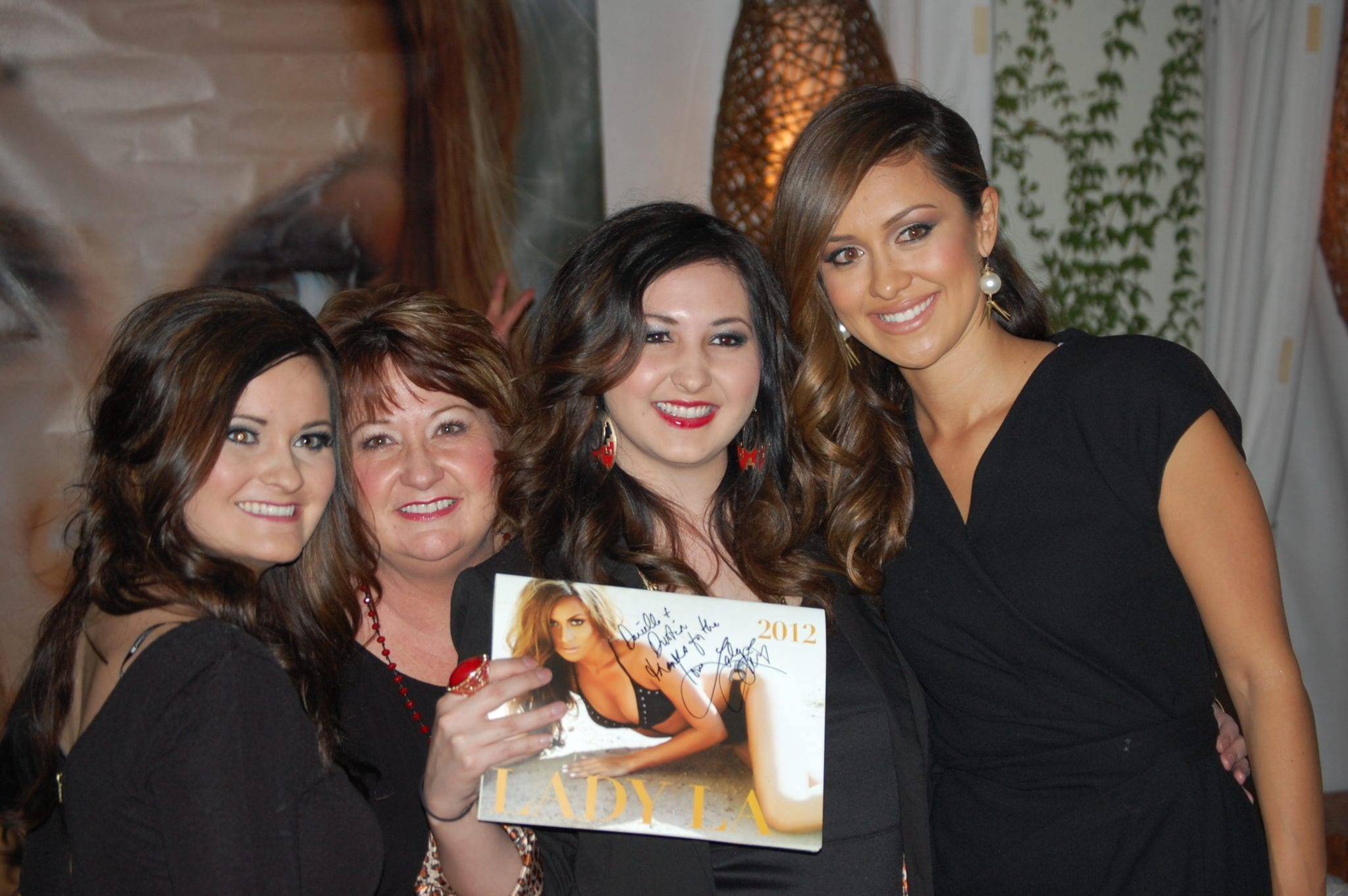 Lady La's Calendar shoot raised money for an autism charity, as well as for Breast Cancer.