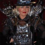 Outfit made from silverware for NACE!