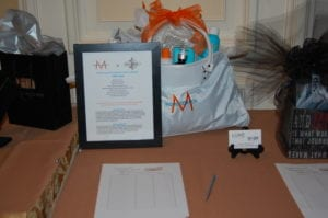 MorroccanOil bag and products with Luxe services for silent auction.