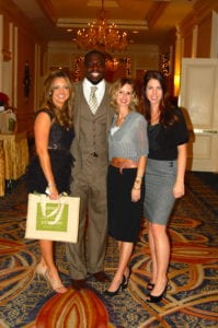 Luxe with AZ Cardinal's Sam Acho at his 1st Annual Charity event.