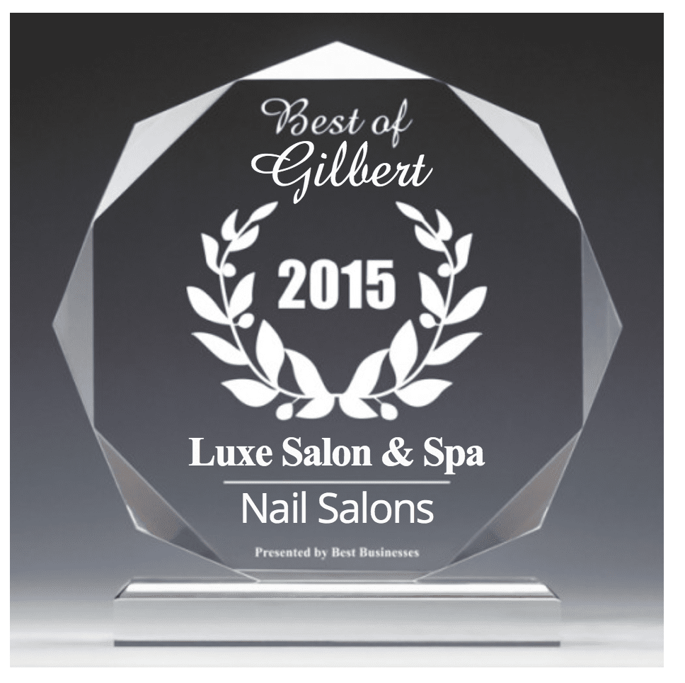 nail salon award