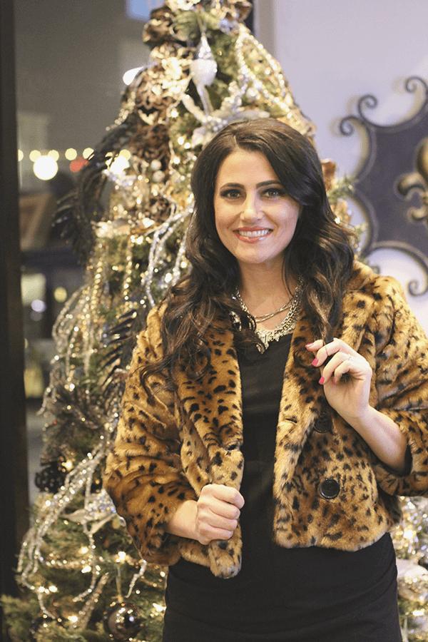 luxe salon makeup smile